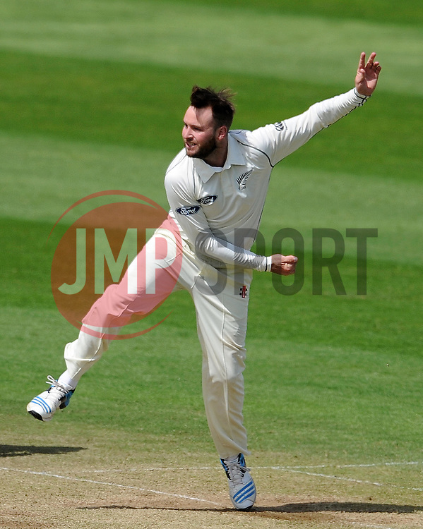 New Zealand's Mark Craig Photo mandatory by-line: Harry Trump/JMP - Mobile: 07966 386802 - 11/05/15 - SPORT - CRICKET - Somerset v New Zealand - Day 4 - The County Ground, Taunton, England.