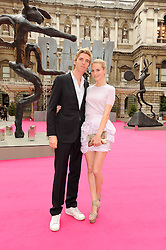 POPPY DELEVINGNE and JAMES COOK at the Royal Academy of Arts Summer Party held at Burlington House, Piccadilly, London on 9th June 2010.