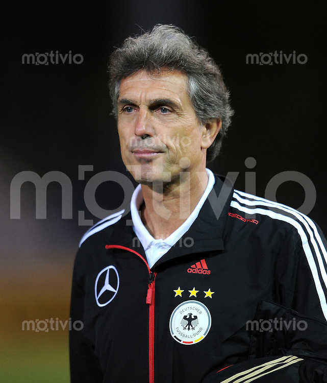 FUSSBALL INTERNATIONAL    SAISON 2010/2011    U21 Deutschland - Ukraine     11.10.2010 Trainer Rainer Adrion (Deutschland)
