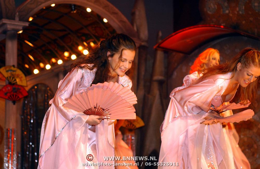 Verkiezing Miss Nederland 2003, Yvonne Beekelaar en Natascha Leber