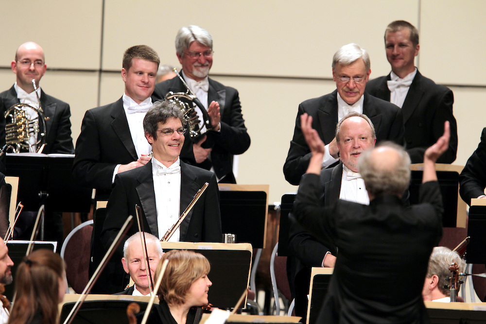 The Minnesota Orchestra with Osmo Vänskä at the Minneapolis Convention Center February 1, 2013.
