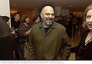 Anthony Minghella. Talk pre-globe Awards Party. Mondrian, Los Angeles. 22/1/2000. <br />© Copyright Photograph by Dafydd Jones 66 Stockwell Park Rd. London SW9 0DA Tel 0171 733 0108 www.dafjones.com