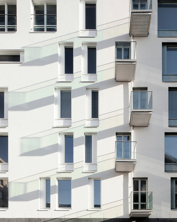 Grammy apartment building in Helsinki, Finland designed by Tuomo Siitonen Architects.