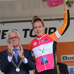 02-09-2017: Wielrennen: Boels Ladies Tour: Vaals: Ritwinnares Anna van der Breggen