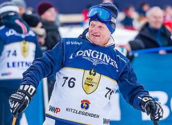 26.01.2019, Streif, Kitzbühel, AUT, FIS Weltcup Ski Alpin, KitzCharityTrophy, im Bild Hias Leitner (Kitz Legenden) // Hias Leitner of Kitz Legenden during the KitzCharityTrophy at the Streif in Kitzbühel, Austria on 2019/01/26. EXPA Pictures © 2019, PhotoCredit: EXPA/ Stefan Adelsberger