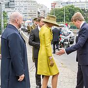 LUX/Luxemburg/20180523 - Staatsbezoek Luxemburg dag 1 , Koningin Maxima en Koning Willem Alexander