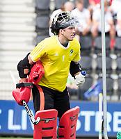 AMSTELVEEN - keeper Dave Harte (IRE) . tijdens Ierland-Engeland (m) bij de Rabo EuroHockey Championships 2017.  COPYRIGHT KOEN SUYK