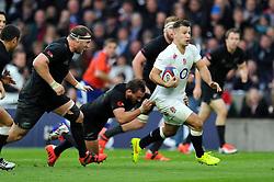 Danny Care of England goes on the attack - Photo mandatory by-line: Patrick Khachfe/JMP - Mobile: 07966 386802 08/11/2014 - SPORT - RUGBY UNION - London - Twickenham Stadium - England v New Zealand - 2014 QBE Internationals