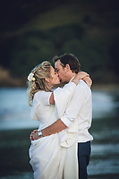 beautiful beach wedding on the coromandel peninsula hahei beach by felicity jean photography