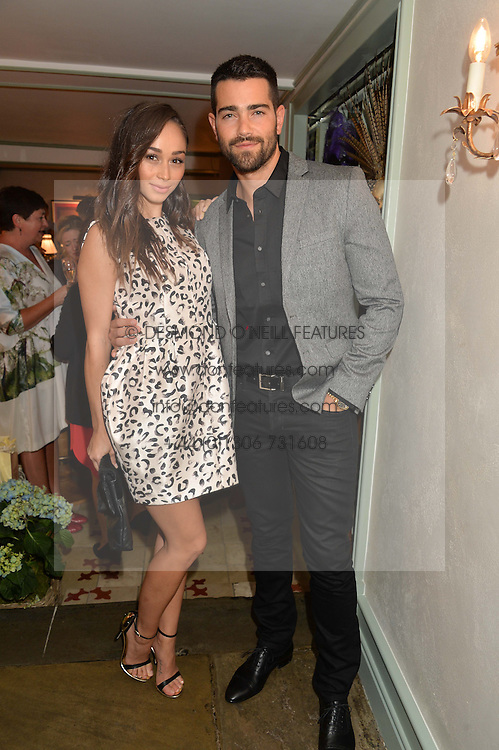 JESSE METCALFE and CARA SANTANA at the 50th anniversary party for Daphne's restaurant, 112 Draycott Avenue, London held on 24th June 2014.