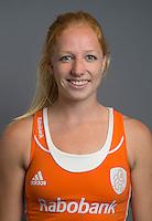 ARNHEM - Margot van Geffen. Nederlands Hockeyteam dames voor Wereldkamioenschappen hockey 2014. FOTO KOEN SUYK