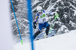 Takahashi Kohei of Japan during Slalom race at 2019 World Para Alpine Skiing Championship, on January 23, 2019 in Kranjska Gora, Slovenia. Photo by Matic Ritonja / Sportida