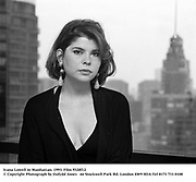 Ivana Lowell in Manhattan. 1993. Film 9328f12<br />
