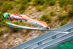 Domen Prevc during national competition in Ski Jumping, 8th of October, 2016, Kranj,  Slovenia. Photo by Grega Valancic / Sportida