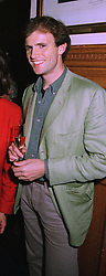Photographer MR DAN STEVENS, at a party in London on 7th October 1997.<br /> MBY 49 MO