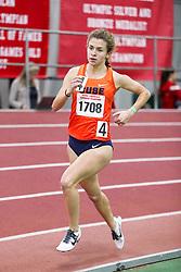 womens Mile, heat 1, Syracuse, <br /> BU John Terrier Classic <br /> Indoor Track & Field Meet