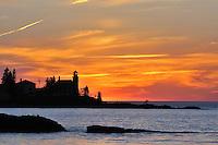 Eagle Harbor Lighthouse,<br /> Michigan's Upper Peninsula