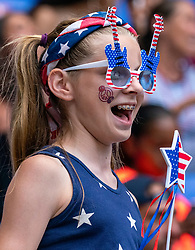 07-07-2019 FRA: Final USA - Netherlands, Lyon<br /> FIFA Women's World Cup France final match between United States of America and Netherlands at Parc Olympique Lyonnais. USA won 2-0 / Support USA