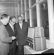 Opening of the Central Weather Analysis and Forecasting Offices at 44 Upper O'Connell Street,  Dublin..23.03.1961