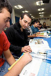 Students on a Tourism and Travel course at Barnet College North London