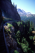 White Pass Railroad, Skagway, Alaska<br />