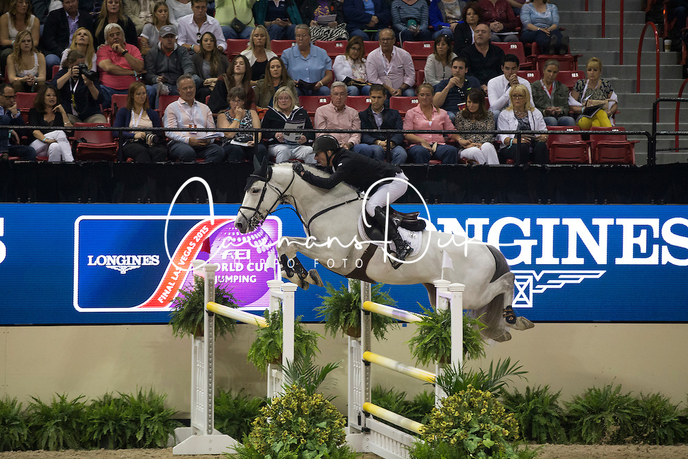 Vrieling Jur, (NED), VDL Zirocco Blue<br /> Longines FEI World Cup&trade; Jumping Final II<br /> Las Vegas 2015<br />  &copy; Hippo Foto - Dirk Caremans<br /> 18/04/15