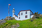 Lobster Cove Head Lighthouse at Lobster Cove Head.<br />