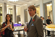 BEN ELLIOTT, Luxury Briefing Wealth Summit Conference drinks. Corinthia Hotel. Whitehall, London. 27 October 2011.<br /> <br />  , -DO NOT ARCHIVE-© Copyright Photograph by Dafydd Jones. 248 Clapham Rd. London SW9 0PZ. Tel 0207 820 0771. www.dafjones.com.