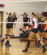 High School Volleyball - Maquoketa vs Solon - Wamac Championship - October 11, 2012