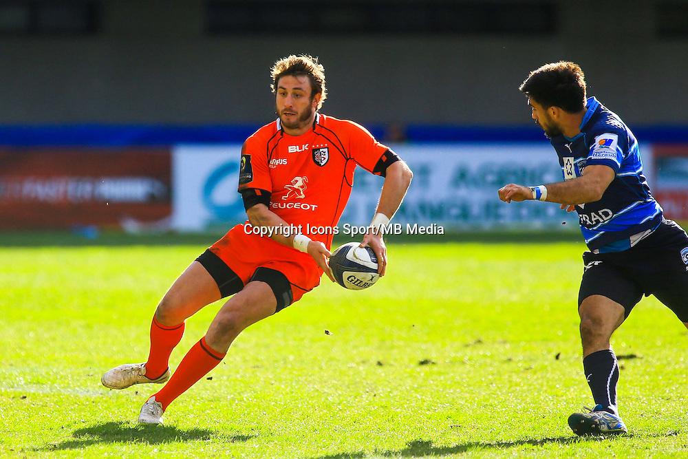 Maxime MEDARD - 25.01.2015 -  Montpellier / Toulouse - European Champions Cup <br /> Photo : Nicolas Guyonnet / Icon Sport