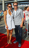 Maria Menounos and Derek Hough - Indianapolis 500
