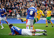 Carlisle - Saturday October 10th, 2008: Wes Hoolahan of Norwich City scores the opening goal during the Coca Cola League One match at Brunton Park, Carlisle. (Pic by Jed Wee/Focus Images)..