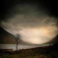 A look down Loch Etive on a dreich day.