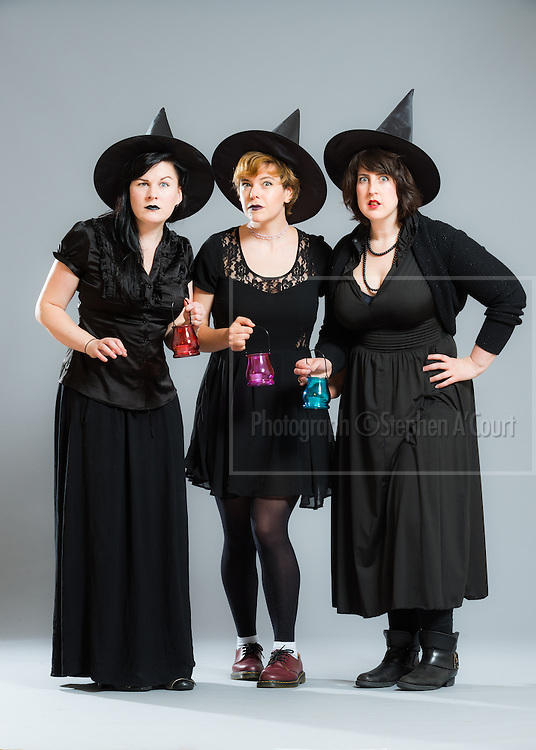 Jennifer O'Sullivan, Caitlin McNaughton and Christine Brooks for the New Zealand Comedy Trust and the New Zealand International Comedy Festival.  Photo credit: Stephen A'Court.  COPYRIGHT ©Stephen A'Court