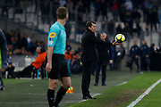 Rudi Garcia of Olympique de Marseille during the French Championship Ligue 1 football match between Olympique de Marseille and Olympique Lyonnais on march 18, 2018 at Orange Velodrome stadium in Marseille, France - Photo Philippe Laurenson / ProSportsImages / DPPI