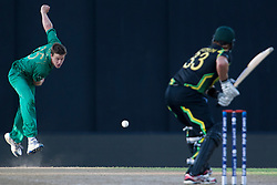 © Licensed to London News Pictures. 30/09/2012. South African Morne Morkel bowling to Shane Watson during the T20 Cricket World super 8's match between Australia Vs South Africa at the R Premadasa International Cricket Stadium, Colombo. Photo credit : Asanka Brendon Ratnayake/LNP