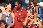 A multi ethnic family. Notting Hill Carnival, London, UK 2006