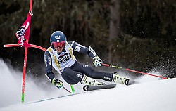 19.12.2016, Grand Risa, La Villa, ITA, FIS Ski Weltcup, Alta Badia, Riesenslalom, Herren, 1. Lauf, im Bild Mathieu Faivre (FRA) // Mathieu Faivre of France in action during 1st run of men's Giant Slalom of FIS ski alpine world cup at the Grand Risa race Course in La Villa, Italy on 2016/12/19. EXPA Pictures © 2016, PhotoCredit: EXPA/ Johann Groder