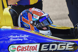 March 11, 2017 - St Petersbourg, FLORIDE, UNITED STATES OF AMERICA - 98 ALEXANDER ROSSI (USA) ANDRETTI HERTA AUTOSPORT W/CURB-AGAJANIAN (USA) HONDA (Credit Image: © Panoramic via ZUMA Press)