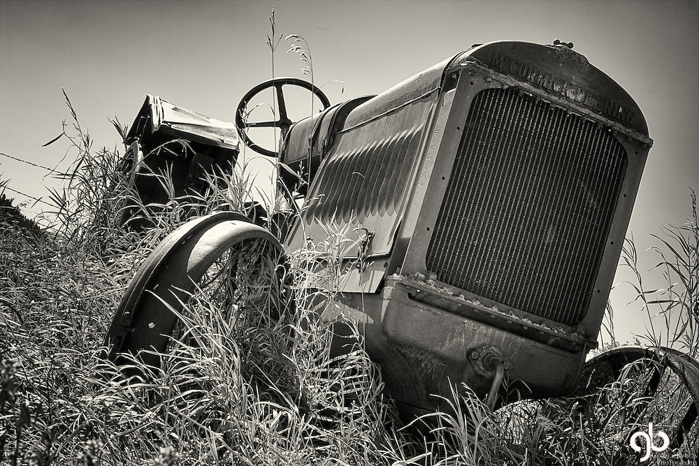 Found this tractor in Forest Grove Montana.