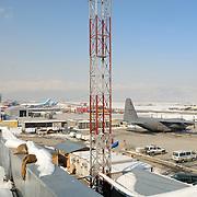 Afghanistan Kabul KAIA winter 2006-7