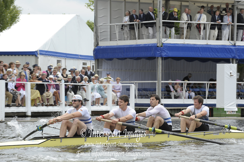 Henley, Great Britain. Ruderklub am Wannsee Berlin. 2009 Henley Royal Regatta Friday 03/07/2009 at  [Mandatory Credit. Peter Spurrier/Intersport Images] . HRR.
