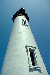 CA: Pigeon Point, California, lighthouse 2005 .Image: capigeon104.Photo Copyright: Lee Foster, lee@fostertravel.com, www.fostertravel.com, (510) 549-2202..