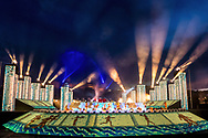Opening Ceremony<br /> Day 01  14/07/2017 <br /> XVII FINA World Championships Aquatics<br /> Szechenyi Lanchid River Danube Budapest Hungary July 14th - 30th 2017 <br /> Photo @G.Scala/Deepbluemedia/Insidefoto