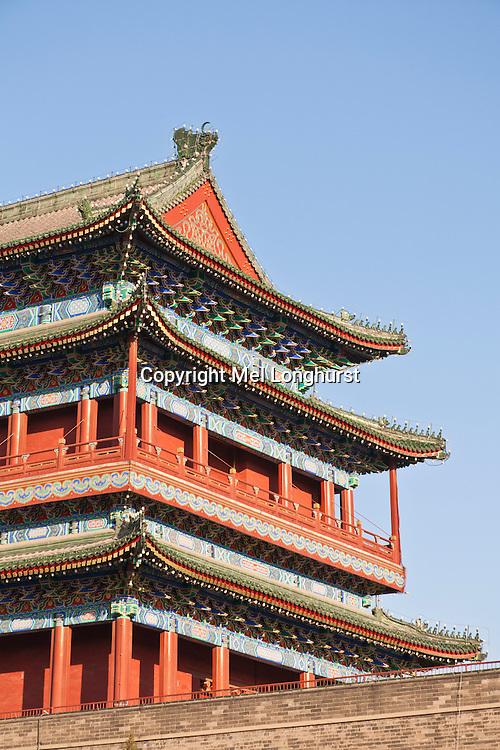 Zhengyangmen Gate, Tiananmen Square, Beijing, China