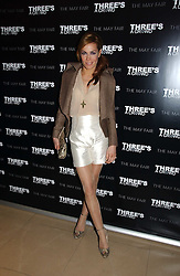 TARA PALMER-TOMKINSON at a party to launch Three's A Crowd held at the Mayfair Hotel, Berkley Street, London on 5th December 2006.<br /><br />NON EXCLUSIVE - WORLD RIGHTS