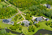 Nederland, Gelderland, Gemeente Renswoude, 13-05-2019; Oud Wittenoord, kapitale villa's in neo-stijl aan de Lunterse Beek.<br /> Capital neo-style villas near the Lunterse Beek.<br /> <br /> luchtfoto (toeslag op standard tarieven);<br /> aerial photo (additional fee required);<br /> copyright foto/photo Siebe Swart