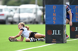 Alice Middleton of Bristol Bears Women scores a try against Dragons Women - Mandatory by-line: Paul Knight/JMP - 02/09/2018 - RUGBY - Shaftsbury Park - Bristol, England - Bristol Bears Women v Dragons Women - Pre-season friendly