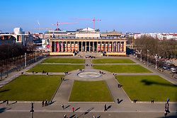 View of  Altes Museum on Lustgarten on Museum Island (Museumsinsel) in Mitte, Berlin, Germany