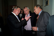 HENRY PORTER; LORD RAZZALL; GENERAL SIR MICHAEL JACKSON, Vanity Fair, Baroness Helena Kennedy QC and Henry Porter launch ' The Convention on Modern Liberty'. The Foreign Press Association. Carlton House Terrace. London. 15 January 2009